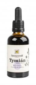BIO olej, Sonnentor Tymián, lisovaný za studena, 50 ml