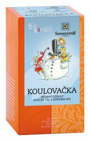 BIO ovocný čaj s kořením, Sonnentor Bio Rarášci - Koulovačka, porcovaný, 20 sáčků