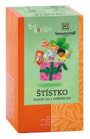 BIO ovocný čaj s kořením, Sonnentor Bio Rarášci - Štístko, porcovaný, 20 sáčků