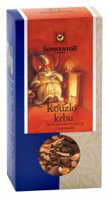 BIO ovocný čaj s kořením, Sonnentor Kouzlo krbu, sypaný, 100 g