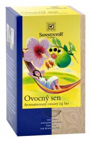 BIO ovocný čaj, Sonnentor Ovocný sen, porcovaný, 18 sáčků