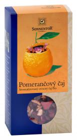 BIO ovocný čaj, Sonnentor Pomerančový čaj, sypaný, 100 g