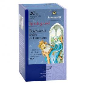 BIO poznávací sada bylinných čajů, Sonnentor Hildegarda z Bingenu, porcované, 20 sáčků