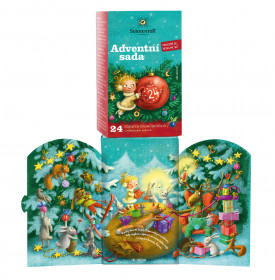 BIO různé čaje mix, Sonnentor Adventní sada, porcovaný, 24 sáčků
