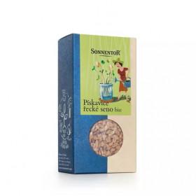 Bio semínka k nakličování Pískavice řecké seno, Sonnentor, krabička 120 g