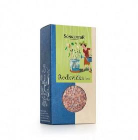 Bio semínka k nakličování Ředkvička, Sonnentor, krabička 120 g