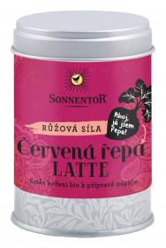BIO směs koření pro přípravu nápoje, Sonnentor Červená řepa Latte, dóza, 70 g