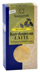 BIO směs koření pro přípravu nápoje, Sonnentor Kardamom Latte, krabička, 45g