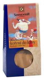 BIO směs koření, Sonnentor Aladinovo koření do kávy, krabička, 25 g