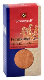 BIO směs koření, Sonnentor Perníkové koření mleté, krabička, 40 g