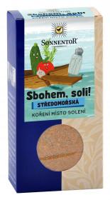 BIO směs koření, Sonnentor Sbohem, soli - Středomořská, krabička, 55 g