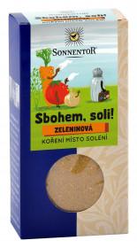 BIO směs koření, Sonnentor Sbohem, soli - Zeleninová, krabička, 60 g