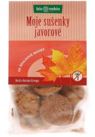 BIO špaldové sušenky, bio nebio Moje sušenky javorové, 130 g