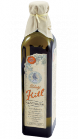 Bylinný likér, Kitl Šláftruňk Zlatý 9.5% obj., 7 bylin, 250 ml