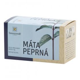 Čaj bylinný Máta peprná bio porcovaný