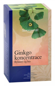 Čaj Gingko-koncentrace porcovaný