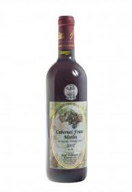 Červené suché víno, Vinařství Josef Valihrach Cabernet Franc Merlot 2007, 11% obj., 0.75 l