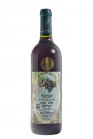 Červené suché víno, Vinařství Josef Valihrach Merlot barrique 2009, 12.5% obj., 0.75 l