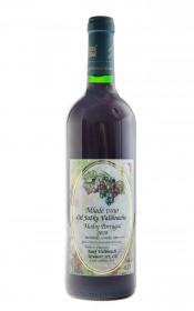 Červené suché víno, Vinařství Josef Valihrach Mladé víno Modrý Portugal 2020, 11.5% obj., 0.75 l