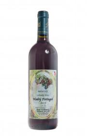 Červené suché víno, Vinařství Josef Valihrach Modrý Portugal 2013 zemské, 11% obj., 0.75 l