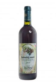 Červené suché víno, Vinařství Josef Valihrach Rulandské modré 2015 zemské, 12.5% obj., 0.75 l