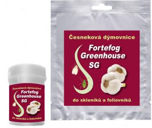 Česneková dýmovnice, PelGar FORTEFOG GREENHOUSE SG, balení 30 g