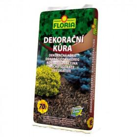 Dekorační kůra Floria DECORATIVE, balení 70 l, hnědá