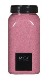 Dekorační písek v dóze, Mica, 650 ml, růžový