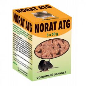 Deratizační nástraha na hlodavce, PelGar NORAT ATG, granule, balení 3 x 50 g