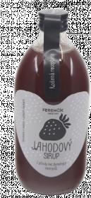 Domácí sirup, Dobroty z přírody Ferenčíkův jahodový, Limitovaná edice, 550 ml