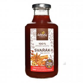 Domácí sirup, Dobroty z přírody Svařák, bez alkoholu, 500 ml