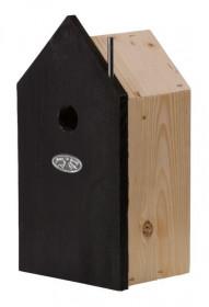 Dřevěná ptačí budka, Esschert Design, černá, malá