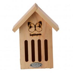 Dřevěný hotel pro motýli, Esschert Design Dům, přírodní
