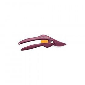 Dvousečné nůžky Fiskars Merlot P26, ocelové, bordo