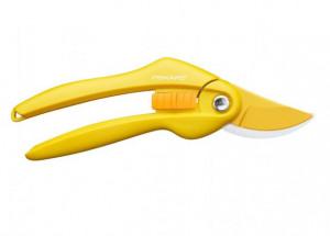 Dvousečné nůžky Fiskars ŠAFRÁN P26, ocelové, žluté