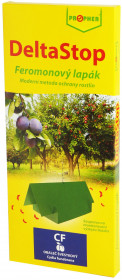 Feromonový lapač obaleče jablečného, Propher DELTASTOP