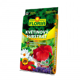 FLORIA substrát květinový 20 l