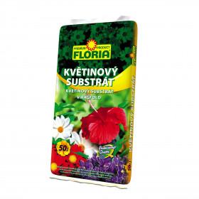 FLORIA substrát květinový 50 l