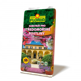 FLORIA Substrát pro středomořské rostliny 50l