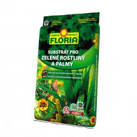 FLORIA Substrát - zelené rostliny 20 l