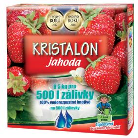 Hnojivo na JAHODY, Agro Kristalon, balení 0.5 kg