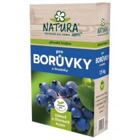 Hnojivo pro BORŮVKY a BRUSINKY, Natura, balení 1.5 kg