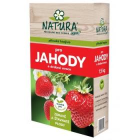 Hnojivo pro JAHODY, Natura, balení 1.5 kg