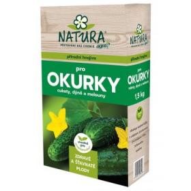 Hnojivo pro OKURKY, CUKETY, DÝNĚ a MELOUNY, Natura, balení 1.5 kg