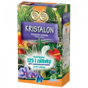 Hnojivo pro pokojové rostliny, Agro Kristalon, balení 0.25 kg