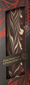 Hořká čokoláda, Severka Exclusive chocolate tříbarevná, 120 g