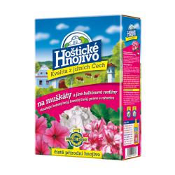 Hoštické hnojivo na MUŠKÁTY a balkónové rostliny, Forestina, balení 1 kg
