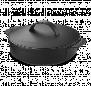 Hrnec litinový bez gril.roštu Gourmet BBQ