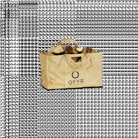 Jutová taška na dřevo, Ofyr