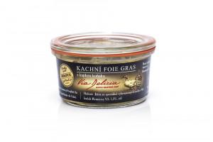 Kachní foie gras s kapkou koňaku, Via Delicia, bez lepku, 115 g